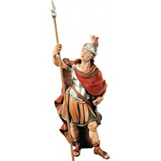 Roman soldier (without base) 10 cm Serie Colored maple