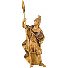 Roman soldier (without base) 27 cm Serie Stained+tones maple