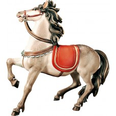 Horse for Roman captain (without base) 12 cm Serie Colored maple