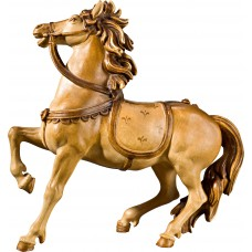 Horse for Roman captain (without base) 27 cm Serie Stained+tones maple