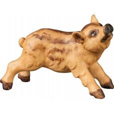 Wild boar piglet 12 cm Serie [3x2cm] Colored maple