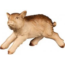 Wild boar piglet 27 cm Serie [6x4,5cm] Stained+tones maple